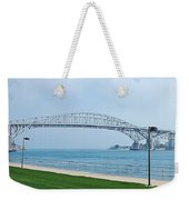 The Blue Water Bridge  Weekender Tote Bag