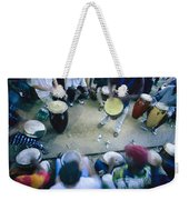 The Blur Of A Frenzied Beat In A Circle Weekender Tote Bag