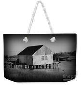 The Boathouse With Texture Weekender Tote Bag