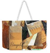 The Bottle Of Banyuls Weekender Tote Bag