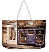 The Bow Bar. Edinburgh. Scotland Weekender Tote Bag