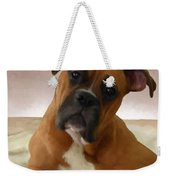 The Boxer Weekender Tote Bag by Snake Jagger