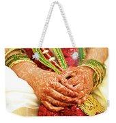 The Bride's Hands Weekender Tote Bag