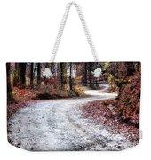 The Broken Road Weekender Tote Bag