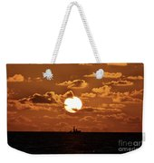 the Bronzy Sunset. Weekender Tote Bag