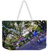 The Bubble Man Of Central Park Weekender Tote Bag