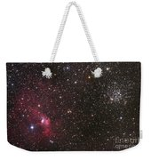 The Bubble Nebula Weekender Tote Bag