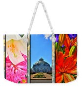 The Buffalo And Erie County Botanical Gardens Triptych Series Weekender Tote Bag