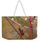 The Bug With Fireweed Seeds Weekender Tote Bag