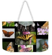 The Butterfly Collection Weekender Tote Bag