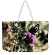 The Butterfly IIi Weekender Tote Bag