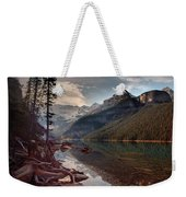The Calm At Lake Louise Weekender Tote Bag