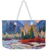 The Canadian Rockies Weekender Tote Bag