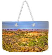 The Canyon In The Distance Weekender Tote Bag