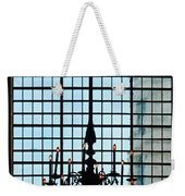 The Cathedral Chandelier  Weekender Tote Bag