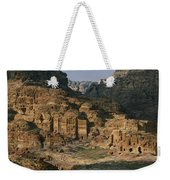 The Caves And Tombs Of Petra, Shown Weekender Tote Bag