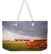 The Cessna Makes A Pit Stop To Refuel Weekender Tote Bag