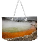 The Champagne Pool In Wai O Tapu Weekender Tote Bag