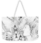 The Change And The Changing Weekender Tote Bag by Helena Tiainen