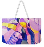 The Chase 3  Weekender Tote Bag