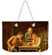 The Checker Players Weekender Tote Bag