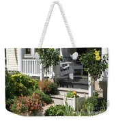 The Cheerful Porch Weekender Tote Bag