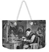 The Chemist, 17th Century Weekender Tote Bag