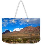 The Chisos Mountains Big Bend Texas Weekender Tote Bag