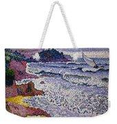 The Choppy Sea Weekender Tote Bag by Henri-Edmond Cross