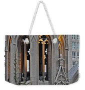 The Church Tower Weekender Tote Bag