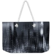 The City Comes Alive At Night Weekender Tote Bag