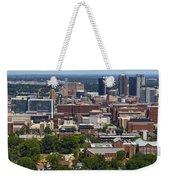 The City Of Birmingham Alabama Usa Vertical Weekender Tote Bag
