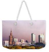 The City Of Warsaw Weekender Tote Bag