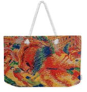 The City Rises Weekender Tote Bag
