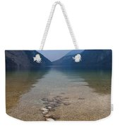 The Clear Waters Of King's Lake Weekender Tote Bag