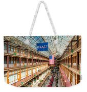 The Cleveland Arcade I Weekender Tote Bag by Clarence Holmes