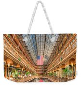 The Cleveland Arcade II Weekender Tote Bag by Clarence Holmes