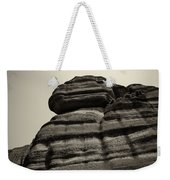 The Cliff Bw Weekender Tote Bag