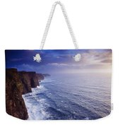 The Cliffs Of Moher, County Clare Weekender Tote Bag