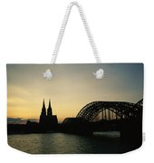 The Cologne Cathedral And Hohenzollern Weekender Tote Bag