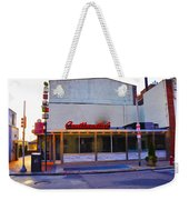 The Continental Diner Weekender Tote Bag by Bill Cannon