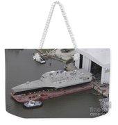 The Coronado Littoral Combat Ship Weekender Tote Bag