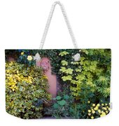 The Courtyard Garden, Fairfield Lodge Weekender Tote Bag