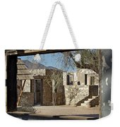 The Courtyard Weekender Tote Bag