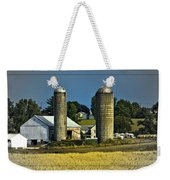 The Cows Have Come Home Weekender Tote Bag by DigiArt Diaries by Vicky B Fuller