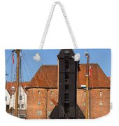 The Crane In Gdansk Weekender Tote Bag