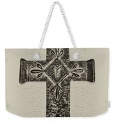 The Cross Weekender Tote Bag by Bill Cannon