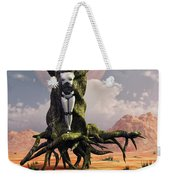 The Crucifixion Of A Messianic Martyr Weekender Tote Bag by Mark Stevenson