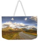 The Cuillin Mountains Of Skye Weekender Tote Bag