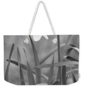 The Daffodil In Black-and-white Weekender Tote Bag